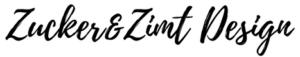 Zucker und Zimt Design Logo